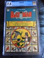 Batman #58 CGC 7.5 ow/w