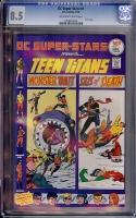 DC Super-Stars #1 CGC 8.5 ow/w
