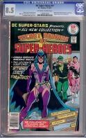 DC Super-Stars #17 CGC 8.5 ow/w