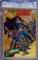 Captain Action #1 CGC 7.0 ow