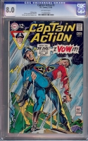 Captain Action #3 CGC 8.0 ow