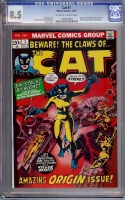 Cat #1 CGC 8.5 ow/w