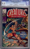 Creatures On The Loose #10 CGC 8.5 ow/w