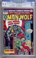 Creatures On The Loose #30 CGC 9.2 ow/w
