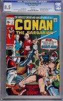 Conan The Barbarian #2 CGC 8.5 w