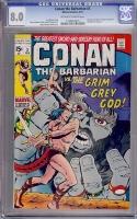 Conan The Barbarian #3 CGC 8.0 ow/w