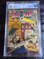 Batman #107 CBCS 7.0 ow/w