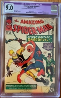 Amazing Spider-Man #16 CGC 9.0 ow/w