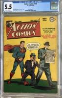 Action Comics #100 CGC 5.5 ow/w