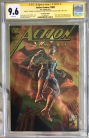 Action Comics #1000 CGC 9.6 w CGC Signature SERIES