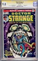 Doctor Strange #4 CGC 9.8 w CGC Signature SERIES