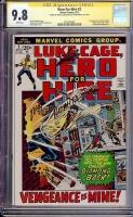 Hero For Hire #2 CGC 9.8 w CGC Signature SERIES