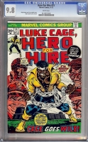 Hero For Hire #15 CGC 9.8 w