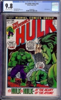 Incredible Hulk #156 CGC 9.8 ow/w
