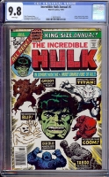Incredible Hulk Annual #5 CGC 9.8 w