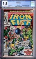Iron Fist #11 CGC 0.0 w