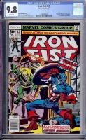 Iron Fist #12 CGC 9.8 w