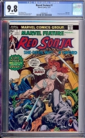Marvel Feature #1 CGC 9.8 w
