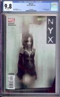 NYX #3 CGC 9.8 w