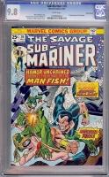 Sub-Mariner #70 CGC 9.8 w Suscha News