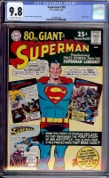 Superman #183 CGC 9.8 ow/w