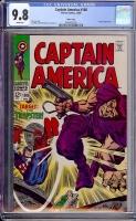 Captain America #108 CGC 9.8 w Massachusetts