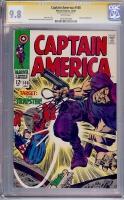 Captain America #108 CGC 9.8 w CGC Signature SERIES