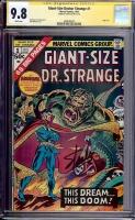 Giant-Size Doctor Strange #1 CGC 9.8 w CGC Signature SERIES