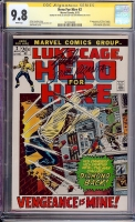 Hero For Hire #2 CGC 9.8 w CGC Signature SERIES