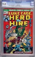 Hero For Hire #6 CGC 9.8 w