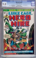Hero For Hire #8 CGC 9.8 ow/w