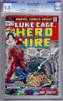 Hero For Hire #10 CGC 9.8 ow/w