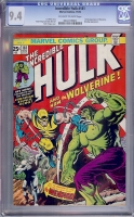 Incredible Hulk #181 CGC 9.4 ow/w
