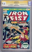 Iron Fist #1 CGC 9.6 w CGC Signature SERIES
