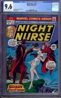 Night Nurse #4 CGC 9.6 ow/w