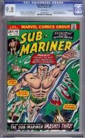 Sub-Mariner #63 CGC 9.8 w Suscha News
