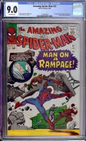 Amazing Spider-Man #32 CGC 9.0 ow