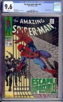 Amazing Spider-Man #65 CGC 9.6 w