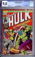 Incredible Hulk #181 CGC 9.0 ow