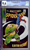 Amazing Spider-Man #60 CGC 9.6 w