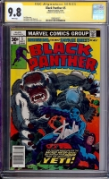 Black Panther #5 CGC 9.8 w CGC Signature SERIES