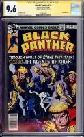 Black Panther #12 CGC 9.6 w CGC Signature SERIES