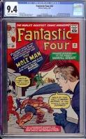 Fantastic Four #22 CGC 9.4 ow/w
