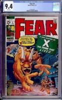 Fear #2 CGC 9.4 w