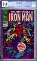 Iron Man #1 CGC 9.4 ow/w