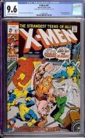 X-Men #67 CGC 9.6 ow/w Double Cover