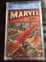 Marvel Mystery Comics #39 CBCS 5.0 ow