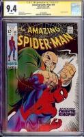 Amazing Spider-Man #69 CGC 9.4 w CGC Signature SERIES