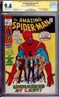 Amazing Spider-Man #87 CGC 9.4 ow/w CGC Signature SERIES