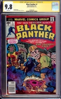 Black Panther #1 CGC 9.8 w CGC Signature SERIES